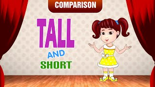 Tall and Short | Comparison for Kids | Learn Pre-School Concepts with Siya | Part 4
