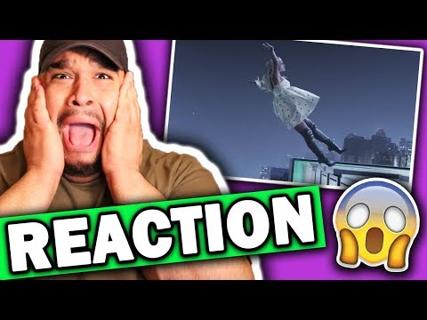 Ariana Grande - No Tears Left To Cry (Music Video) REACTION
