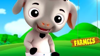 Baby Goat | Johny Johny Version 2 | Nursery Rhymes | Kids Songs | Baby Rhyme by Farmees