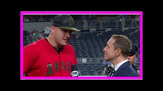 Breaking News   Mike Trout on Yankee Stadium: 'I just like hitting here' (VIDEO)