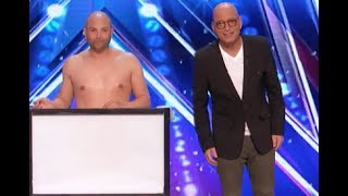 Naked Magician Shows His Tasting Magic Tricks | Week 5 | America's Got Talent 2017