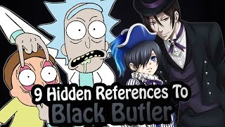 9 References To Black Butler Hidden In Other Works! (Black Butler/Kuroshitsuji)