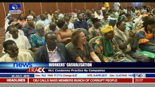 NLC Condemns Workers' Casualisation Practice By Companies