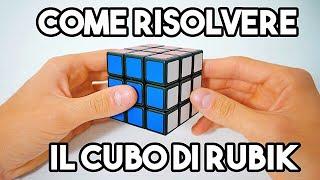 Come risolvere il CUBO di RUBIK - Metodo facile a strati - Tutorial /Spiegazione