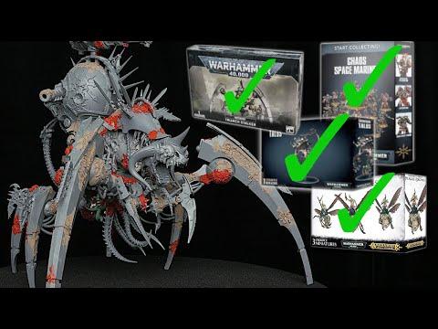 Destroying 200 in Warhammer to Create a CUSTOM MODEL