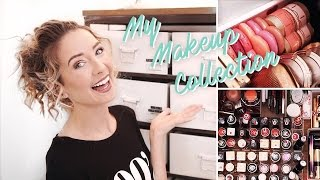 My Makeup Collection & Storage 2017 | Zoella