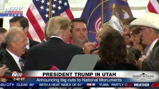 FNN: President Trump announces cuts to National Monuments in Utah, Stock market surges