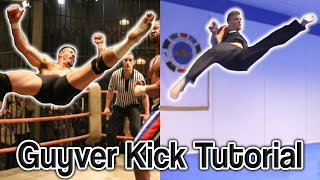 Guyver Kick Tutorial aka Boyka/Scott Adkins Signature Move | GNT