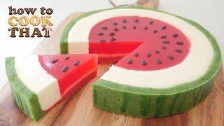 SUMMER WATERMELON DESSERT How To Cook That Ann Reardon Watermelon Week