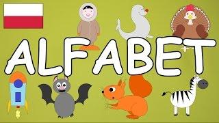 Alfabet po polsku z obrazkami dla dzieci [alphabet] - AbcZabawa