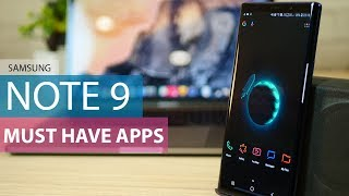 Top 5 Apps for Galaxy Note 9