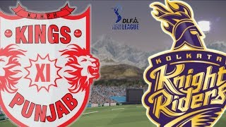 IPL 7 Final KKR v KXIP (Don Bradman Cricket 2014 Gameplay)