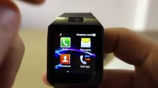 Smart Watch DZ09 - Full Review (Greek)
