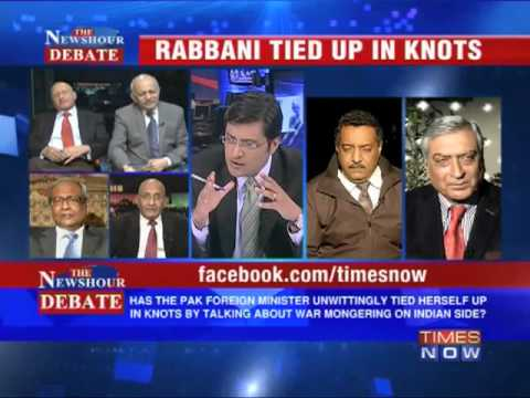 The Newshour Debate: Rabbani tied up in knots (Full Episode)