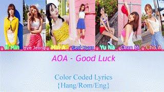 AOA (에이오에이) - Good Luck [HAN|ROM|ENG Color Coded Lyrics]