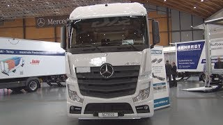 Mercedes-Benz Actros 2545 Chassis Truck (2018) Exterior and Interior