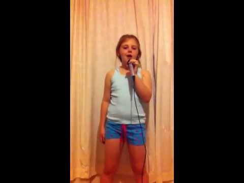 Abbie Whittle Baldwin singing Adele