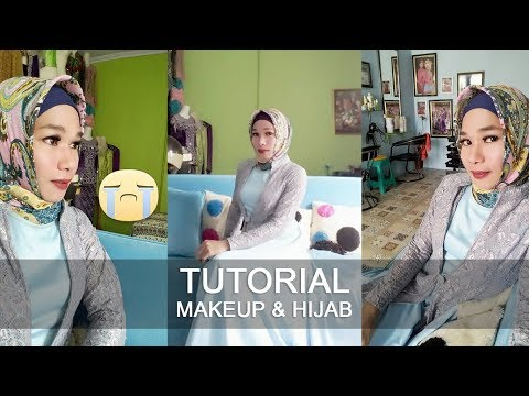 Ratna Mangali - Tutorial Makeup & Hijab (Crossdresser)