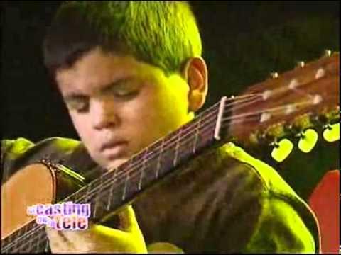 Con 11 años tocó su guitarra como un grande El casting de la tele 2008 El Trece