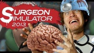 BRAIN SURGERY SUCCESS! (Surgeon Simulator - Part 3)