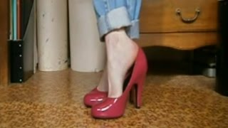 Mis pies en tacones - My feet in heels