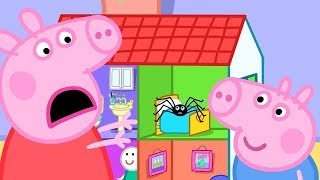 Peppa Pig English Episodes | Playing Pretend Bicycle Race #PeppaPig
