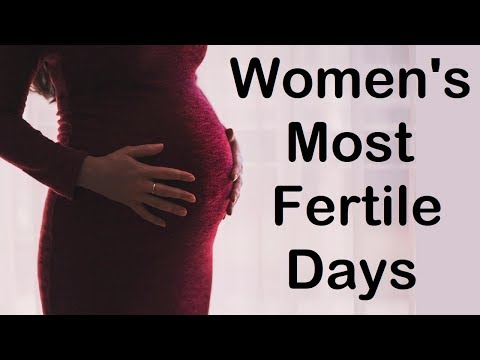 Women s most fertile days for easy conception