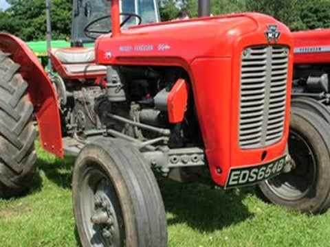 Ayrshire Vintage Tractor Rally 2008.50 years of Massey.
