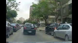 Drive in Cairo . Egypt جوله بالقاهره