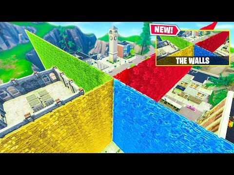 THE WALLS NEW Custom Gamemode In Fortnite Battle Royale