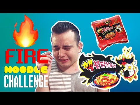 FIRE NOODLE CHALLENGE [+RECIPE]