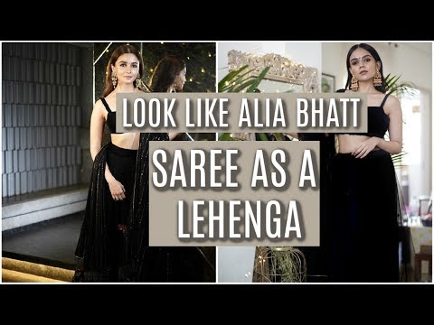 Xxx Mp4 How To Wear A Saree In Lehenga Style SUPER EASY Komal Pandey 3gp Sex