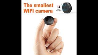 Wifi Spy Camera,1080P Portable Hidden Cameras Wireless Home Security Small Camera