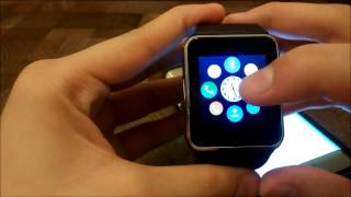 How to Pair Gt08 Smartwatch To Android Smartphone  For Notification