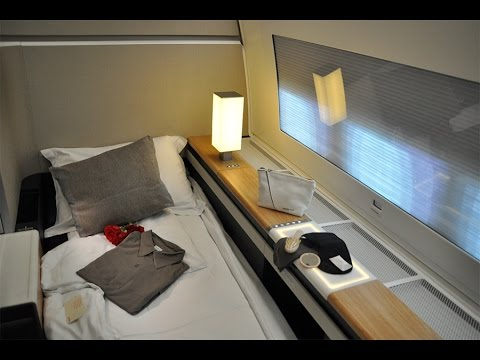 SWISS NEW FIRST CLASS ZURICH BANGKOK BOEING 777