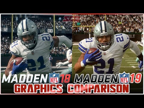 Xxx Mp4 Madden 19 Vs Madden 18 Graphics Comparison 3gp Sex
