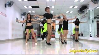 SaigonBellydance Buttons The Pussy Cat Dolls Mr  Long Sexy dance 2