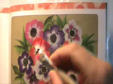 Disfruta pintando flores 6