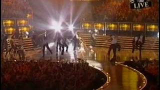 Beyonce and Sean Paul EMA Performance - Version 1 (technical issues)