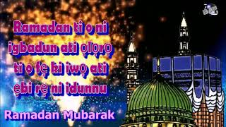 Yoruba Language Ramadan  Mubarak  Ramazan  Mubarak greetings Whatsapp download