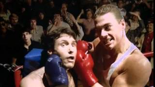 No Retreat No Surrender, 1986. Final fight scene. Jean-Claude Van Damme