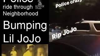 Chicago Police Ride Through Neighborhood Bumping Lil JoJo