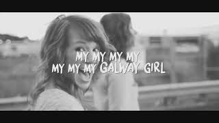 Ed Sheeran Galway Girl Lyric Video José Audisio Cover