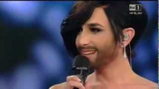 Sanremo 2015 - Conchita Wurst - Seconda serata 11/02/2015