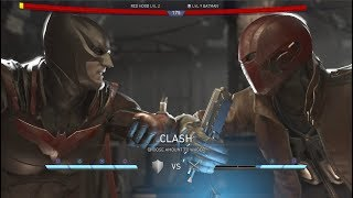 Batman Vs Red Hood Dialogue - Movie References - Injustice 2