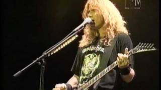 Megadeth - Almost Honest - Live at Monsters of Rock