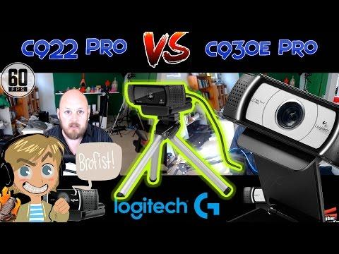 Logitech C922 Pro vs C930e Webcam Comparison