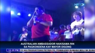 Australian Ambassador condemns Duterte's rape joke