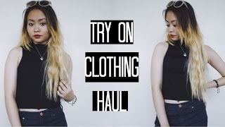 Fall TRY-ON Clothing Haul 2015!
