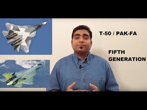 watch T-50 / PAK-FA and few things about F-22, F-35